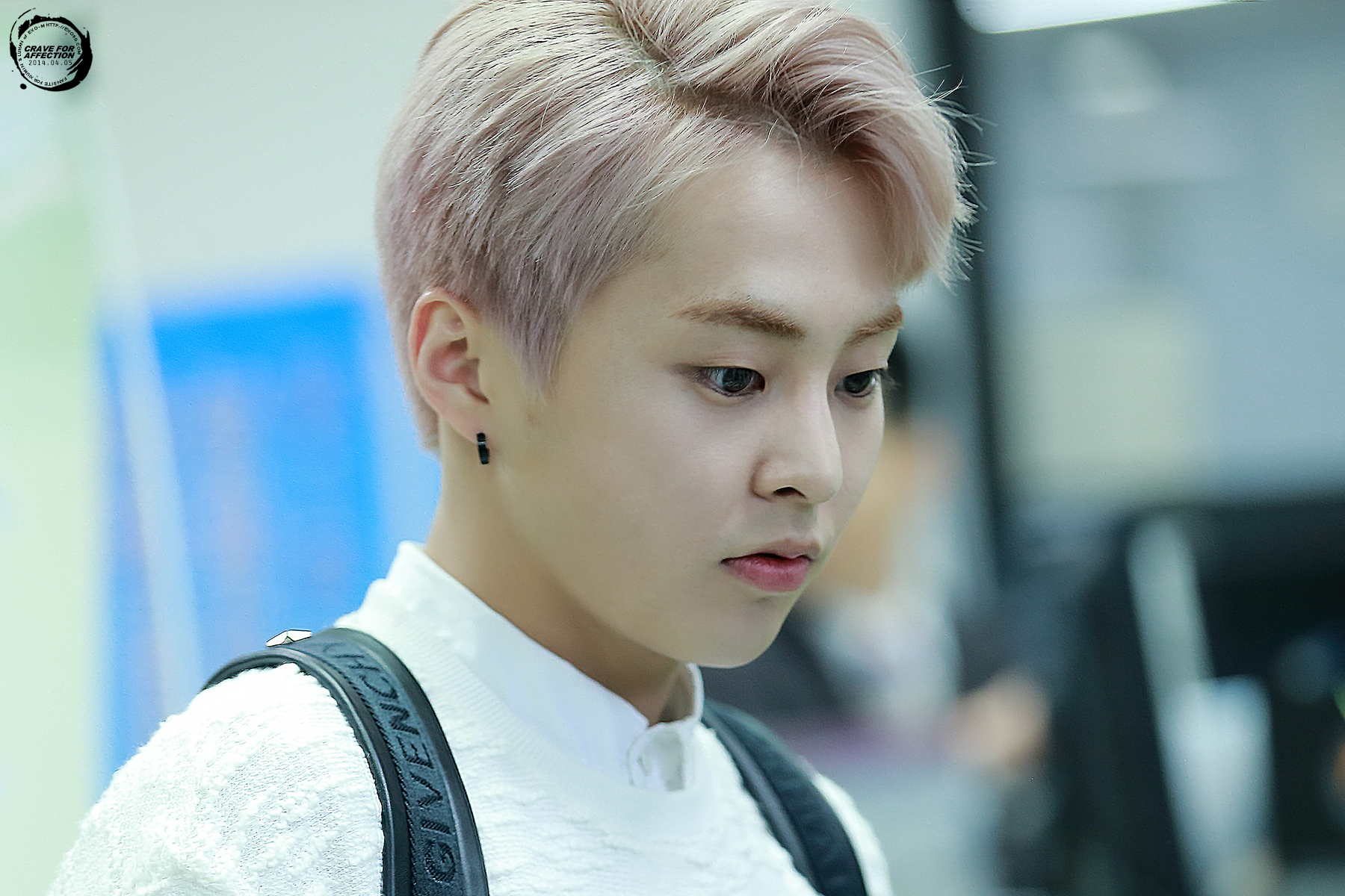 [PHOTOS] 140405 Xiumin – Gimpo Airport Departure to China ...
