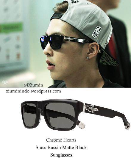 aab1b6e1c172 Chrome Hearts – Sluss Bussin Matte Black Sunglasses